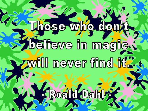 Magic Roald Dahl